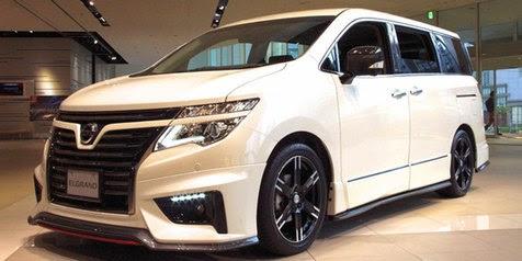 2015 Nismo Nissan Elgrand MPV with cool design