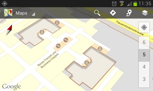 google indoor maps available on germany