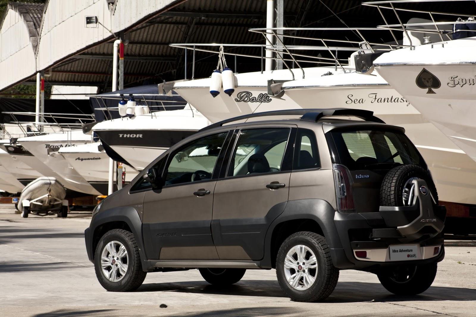 Confira Versões e preços do Fiat Idea 2014: