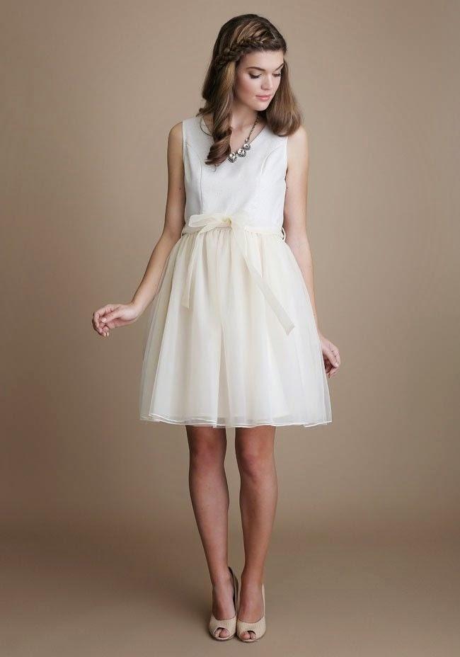 Nicolette Ruche Dress - Affordable 1960s Wedding Dresses