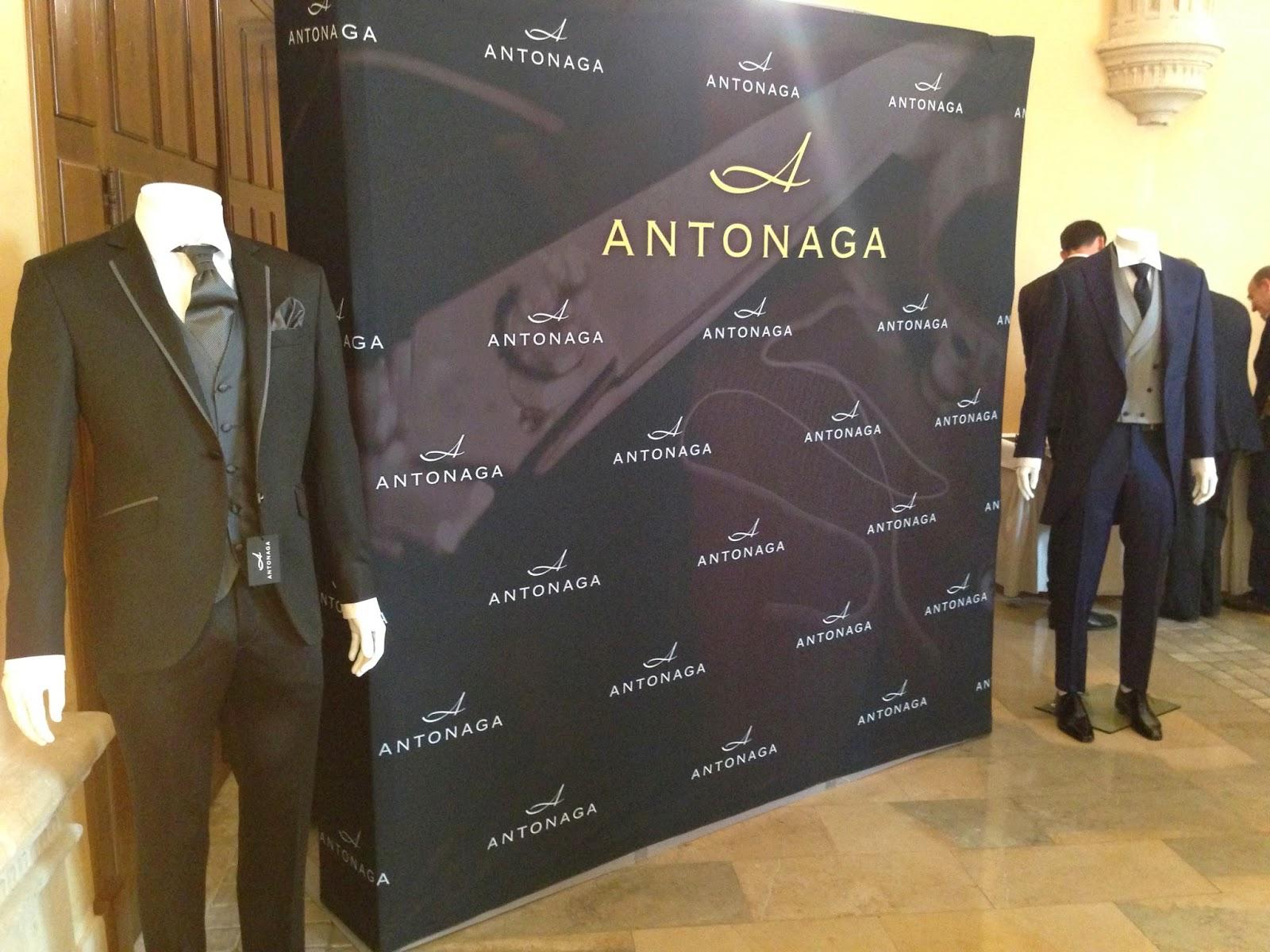 Antonaga, nueva colección ceremonia & sastrería primavera-verano 2015