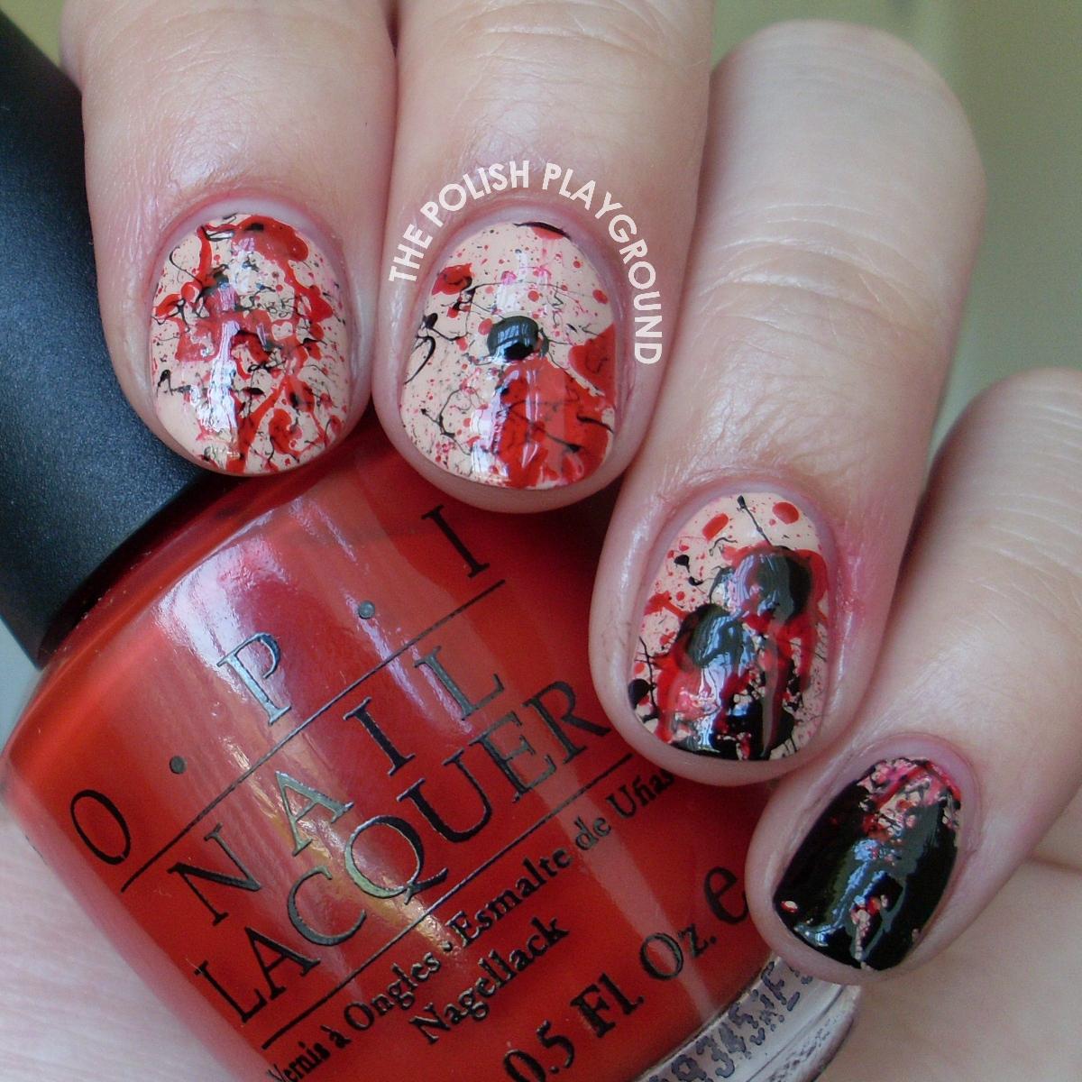Imas nail art the vampire diaries nail art vampire diaries nail vampire diaries inspired nails images vampire diaries nail art prinsesfo Gallery