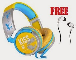 Lowest Price with Freebie: Buy iDance KM-300 Headset just for Rs.1399 Only & Get iDance SLAM 10 Wired Headphones worth Rs.499 for FREE @ FLipkart