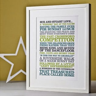 Ma Bicyclette - Buy Handmade - Valentine's Gifts For Men - Rosie Robins - favourite things print