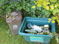 Get tidy with a recycling bin store from Dorset Log Stores