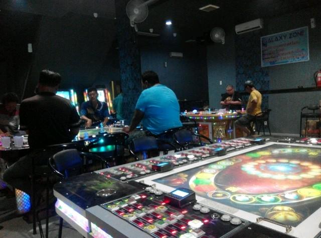 """Judi Modus Game Ketangkasan """"GZ"""" di Ringroad Medan Terkesan Dilegalkan"""