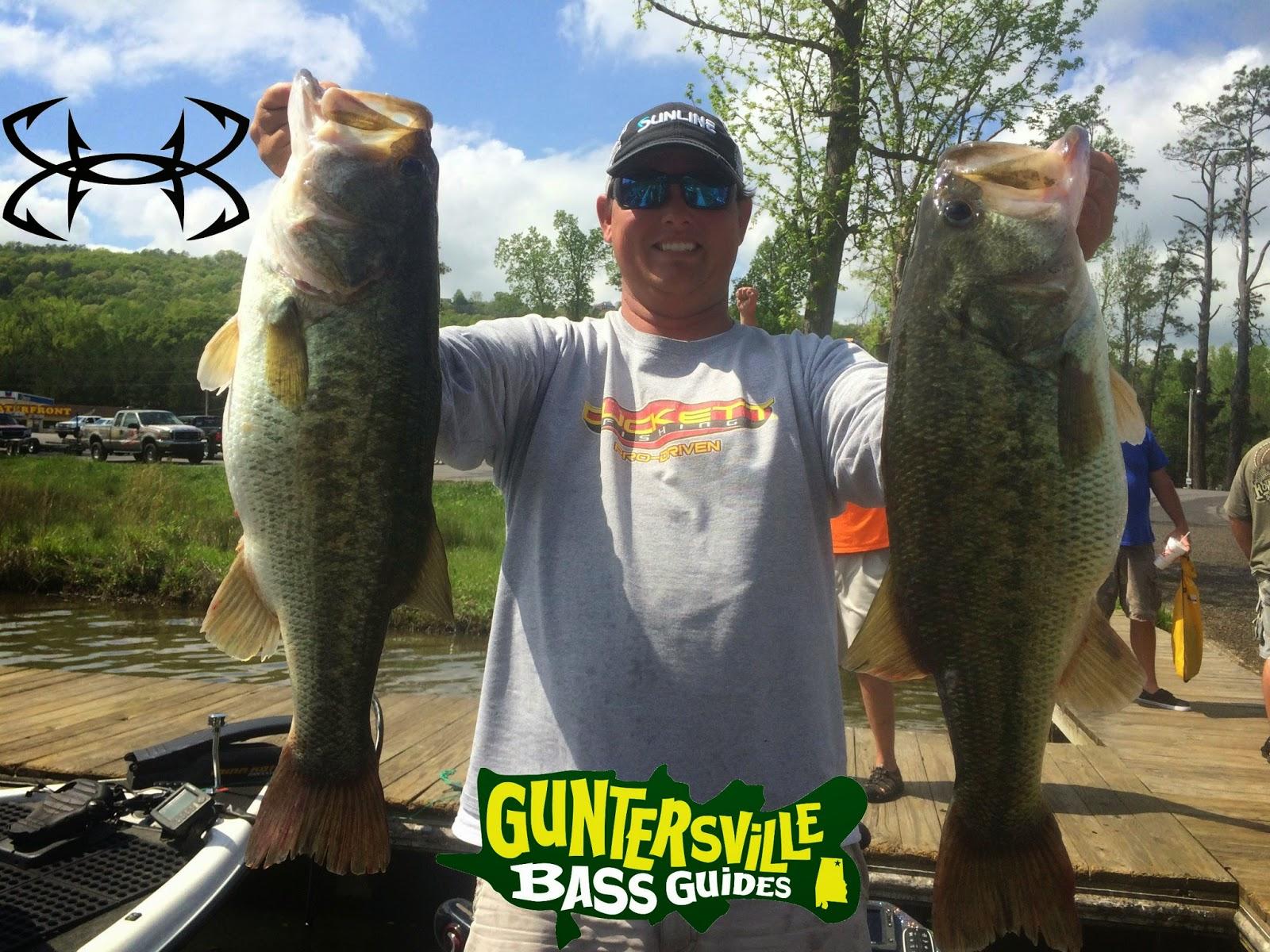 Guntersville bass guides guntersville fishing report for Alabama bass fishing reports