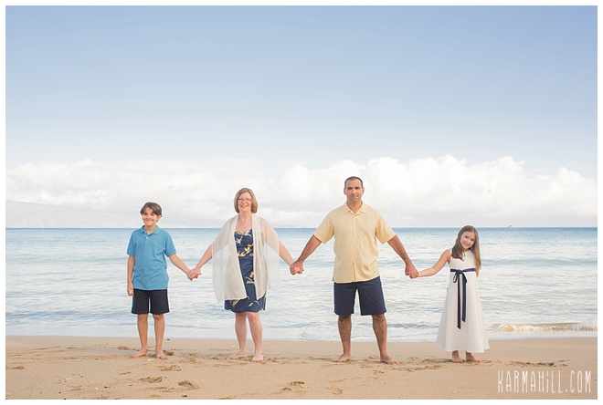 Maui Family Beach Photographer