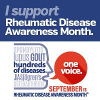 September is Rheumatic Disease Awareness Month