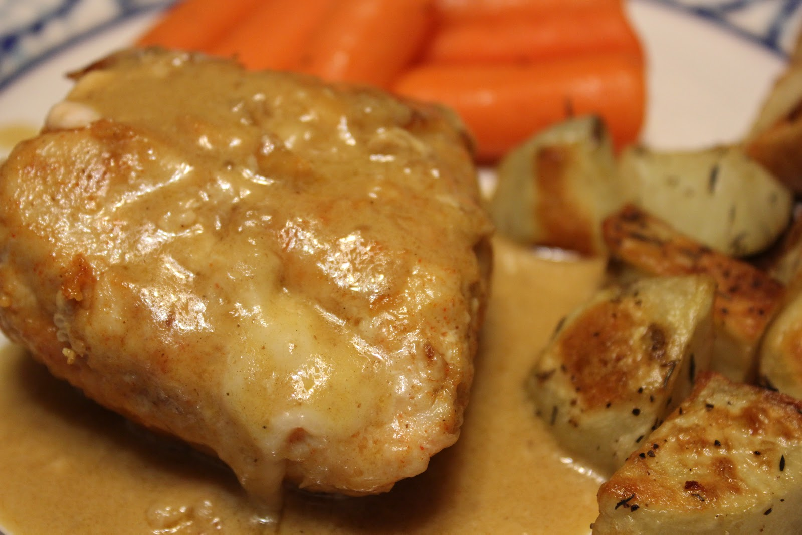 THE BUSY MOM CAFE: The Weekend Chef: Chicken Cordon Bleu II