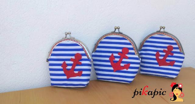 Monederos estilo Marinero o Navy Pikapic