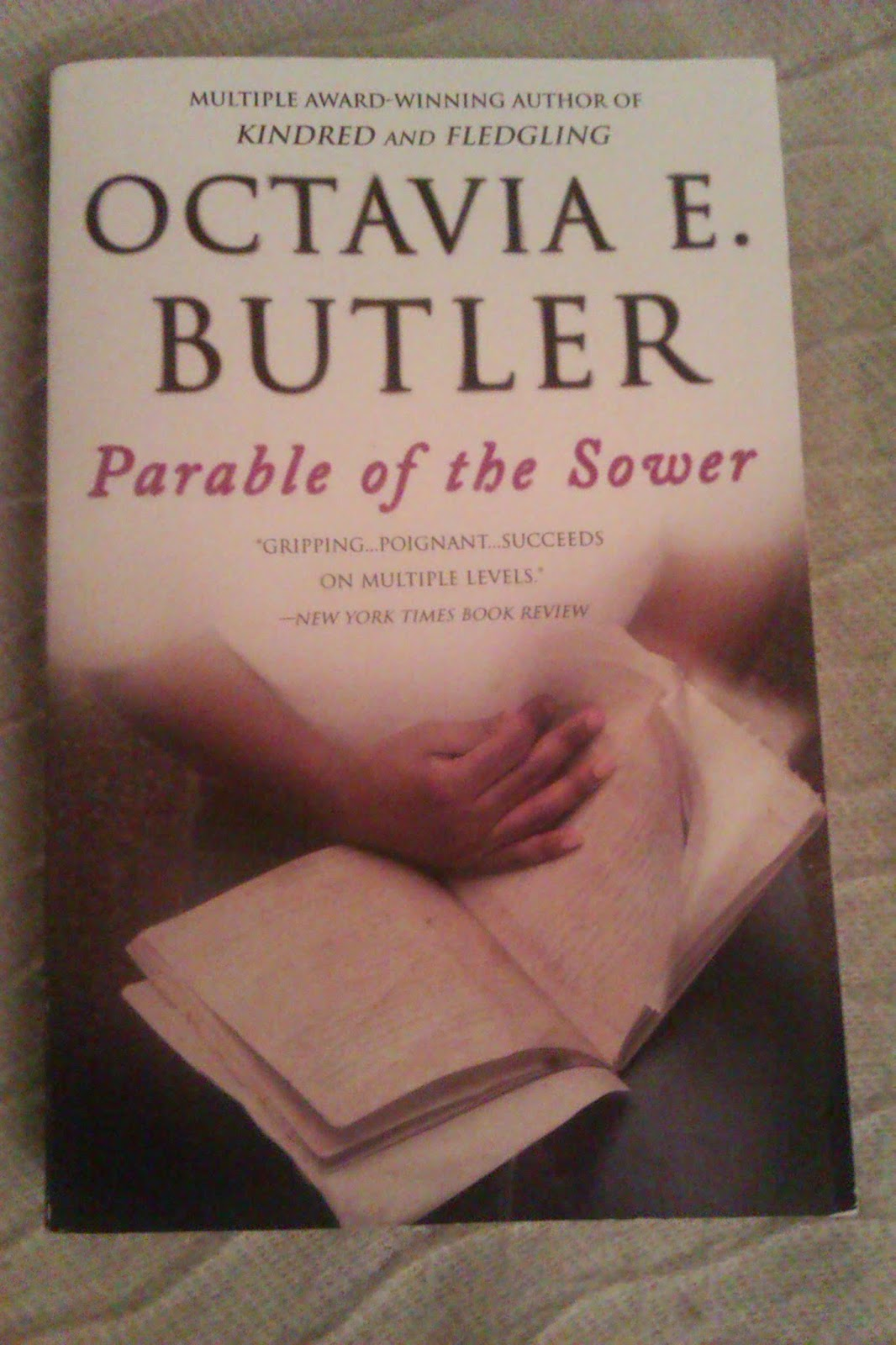 a comparison of the characters lauren olamina in octavia e butlers novel parable of the sower and ho Get everything you need to know about lauren olamina in parable of the sower all characters lauren olamina lauren's parable of the sower by octavia e.