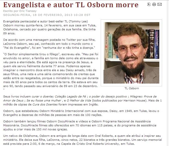 T.L.Osborn