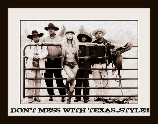 DON&#39;T MESS WITH TEXAS...STYLE!
