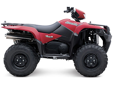 2013 Suzuki KingQuad 750AXi Power Steering 30th Anniversary Edition ATV pictures. 480x360 pixels