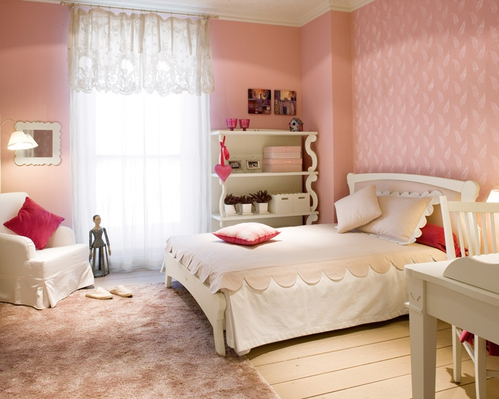 dormitorios rosa para chicas adolescentes dormitorios con estilo. Black Bedroom Furniture Sets. Home Design Ideas