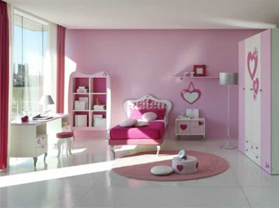 Cute Bedroom Ideas on Bedroom Furniture Cute Girls Pink