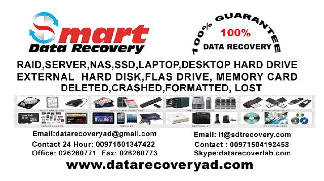 Data Recovery Abu Dhabi