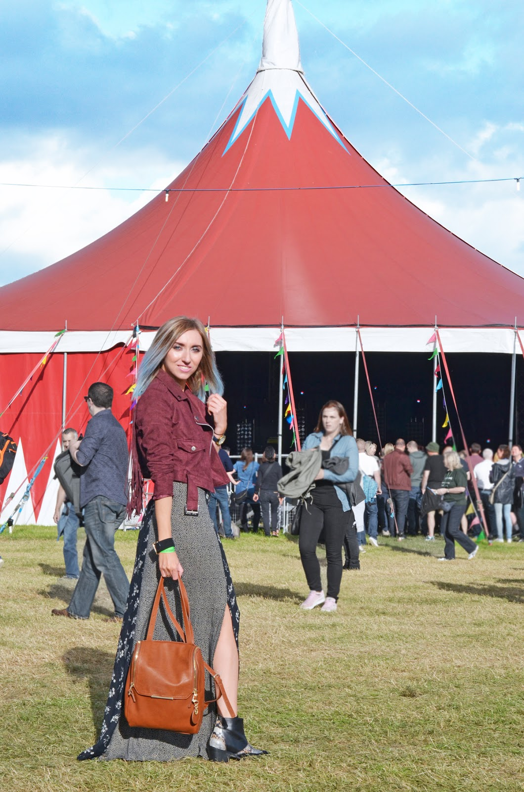 On Blackheath Festival With Nica Handbags
