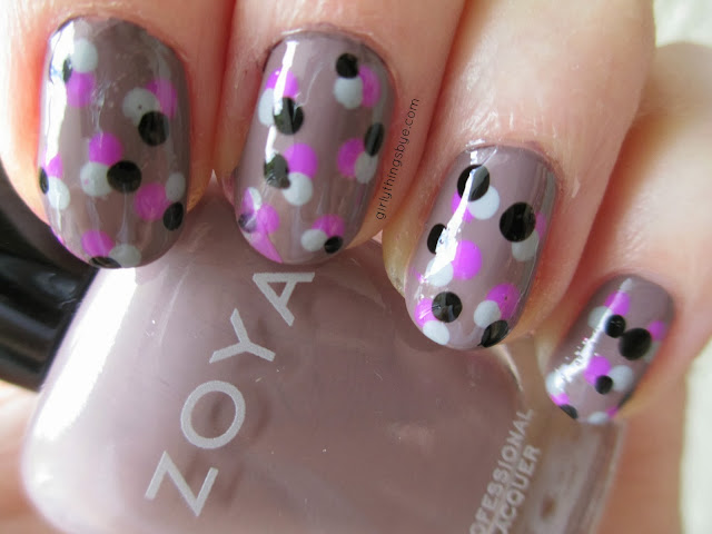 Polka Dot Nails @Girly Things by *e*