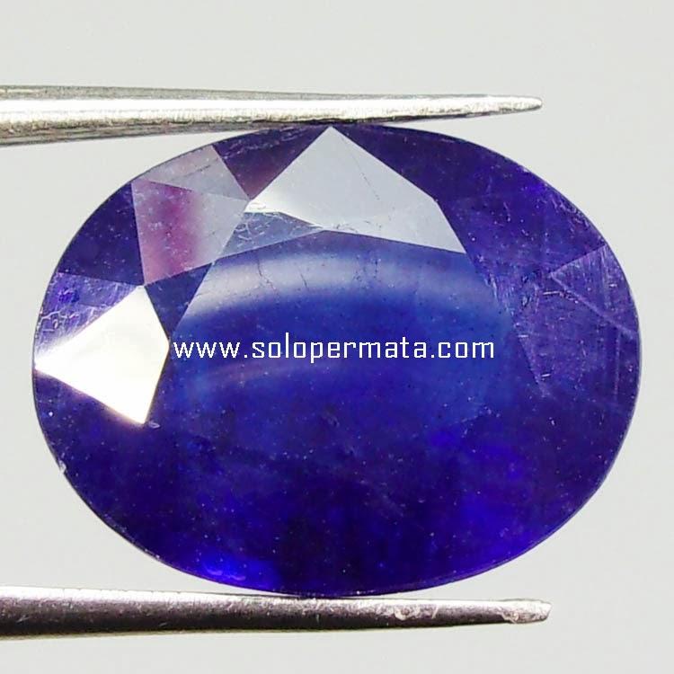 Batu Permata Blue sapphire - 13B06