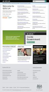 captura de la web gob.uk