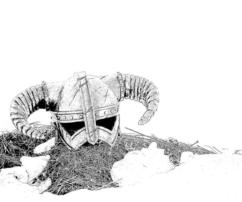 printable-elder-scrolls5-skyrim-warriors_coloring-pages