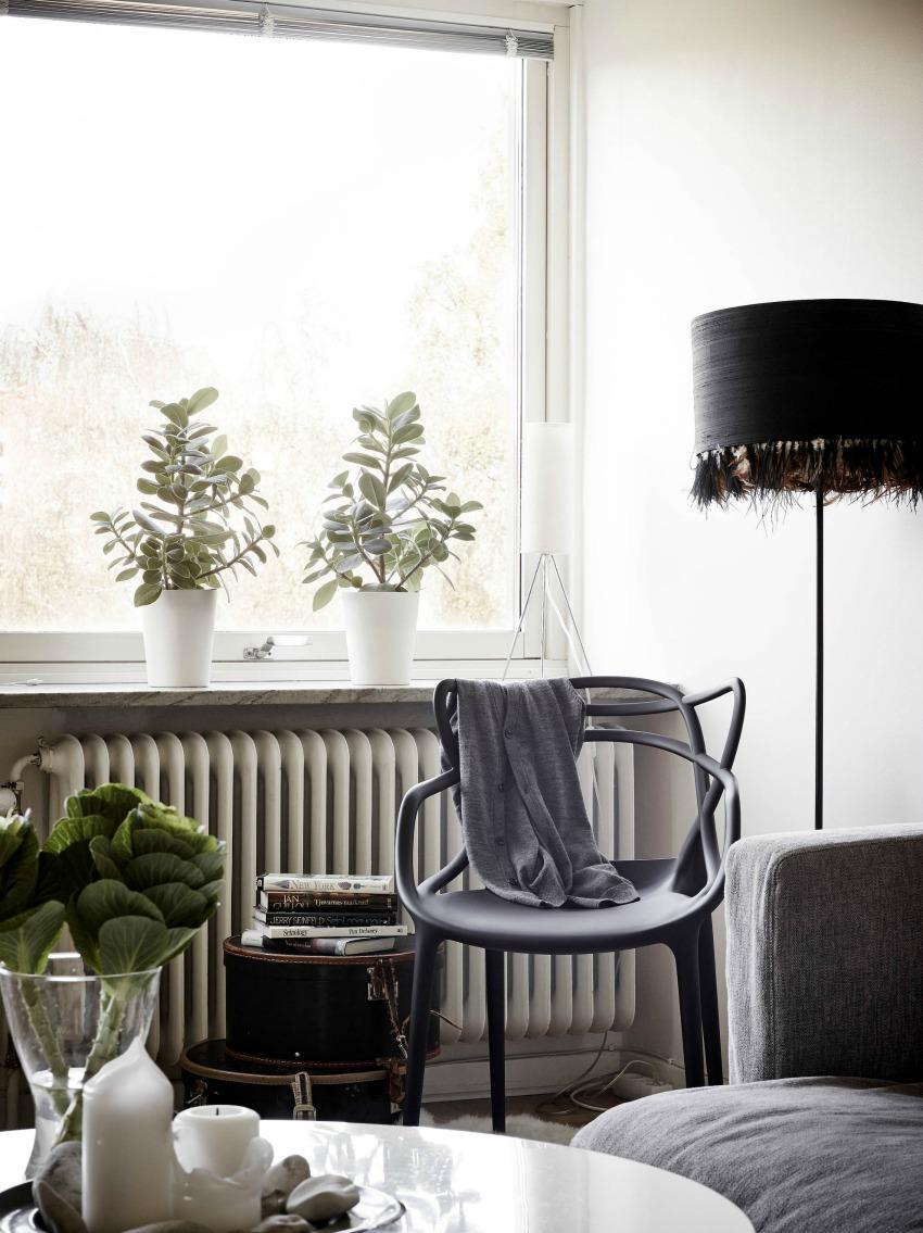 House of silver: smukt indrettet lille lejlighed på bare 54 m2