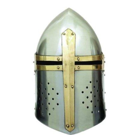 Medieval SUGARLOAF HELMET Knight Armor  sc 1 st  knight helmet medieval armor and knight costume ideas & knight helmet medieval armor and knight costume ideas: Black Knight ...