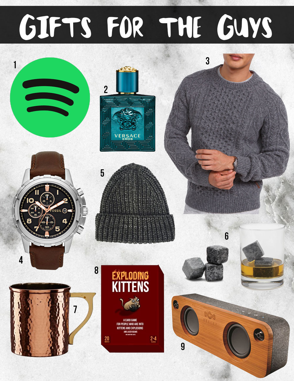 Gifts For The Guys | Christmas Gift Guide - Lovely Complex