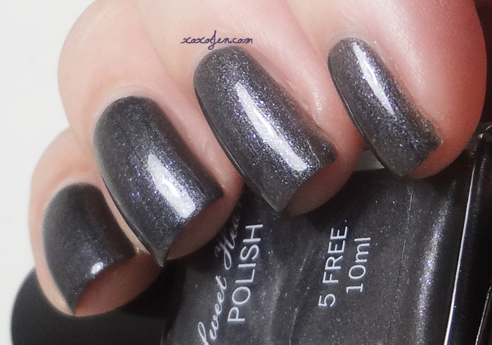xoxoJen's swatch of Sweet Heart Polish She's Stark Raving Matte