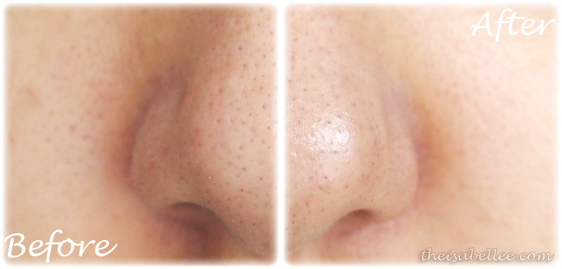 Pore size after Timeless Truth Masks