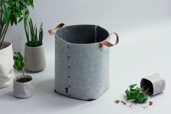 These New Hoop Baskets Are A Fantastic Functional Felt Storage Basket With  Leather Handles, Making A Stylish Addition To Any Space In Your Home.