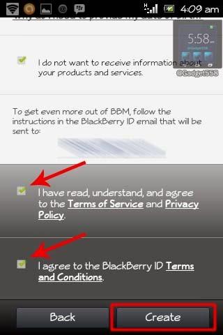 Langkah membuat BlackBerry ID
