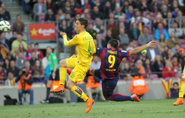 Barcelona 6-0 Getafe (Spanish League Jornada 34)