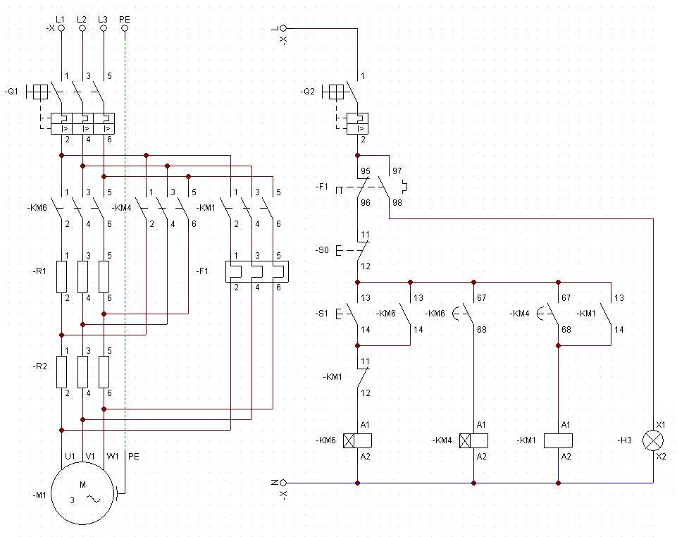 Ingenier a electr nica v ctor calder n arranque de for Motor para cascada