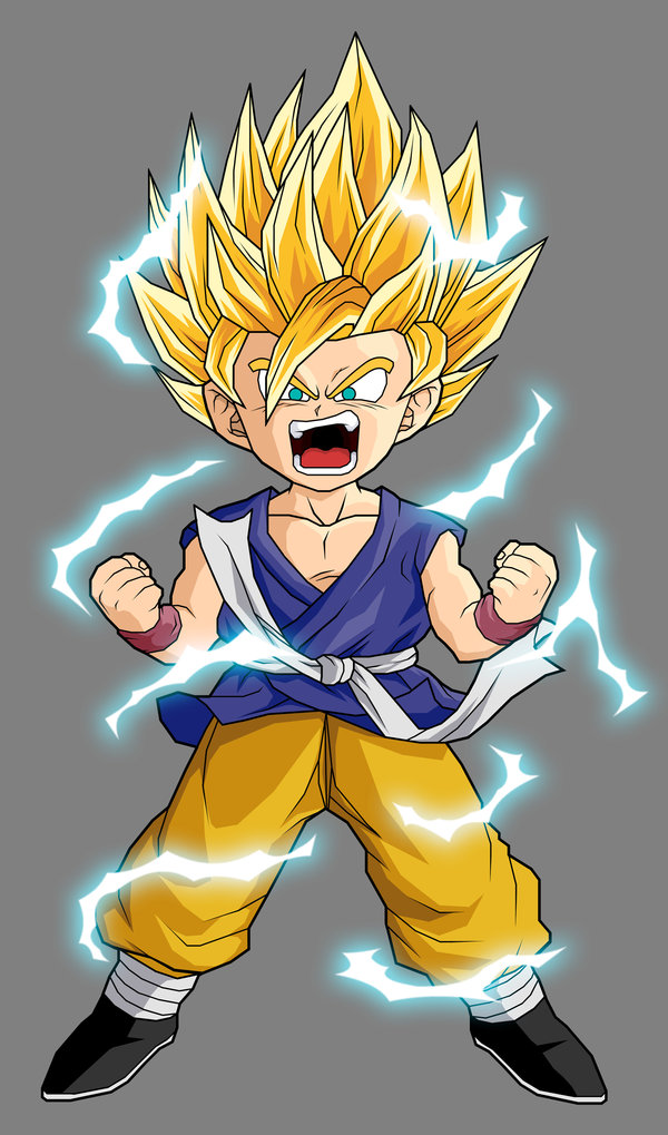 Dragon ball z wallpapers goku super saiyan 2 - Super sayen 10 ...
