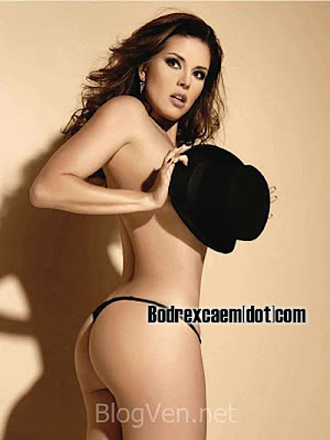 foto alicia machado desnuda playboy: