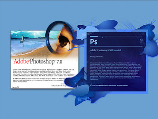 The different versions of Adobe creative software, Photoshop.