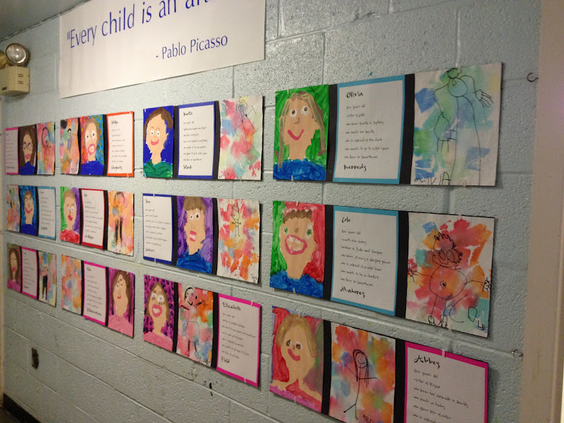mrs goff s pre k tales spectacular self portraits