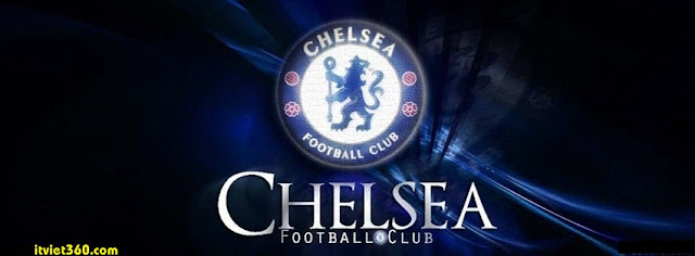 Ảnh bìa Facebook bóng đá - Cover FB Football timeline, chelsea logo FC Club