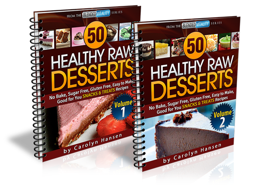 50 Healthy Raw Desserts - Healthy snacks that taste great. Natural