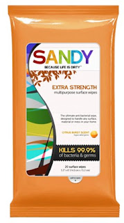 Free Sample Extra Strength Sandy Wipes