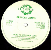 Spencer Jones - How To Win Your Love (Vinyl, 12''1986)(Chanpion Records)