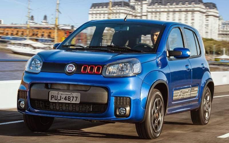 Novo Uno 2015 preço consumo carros da fiat