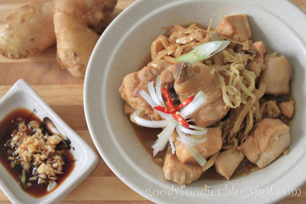 Goodyfoodies recipe chicken with chinese rice wine and old ginger not only women love this men do too ive heard stories of friends husbands stealing bites from their wife during their confinement forumfinder Choice Image
