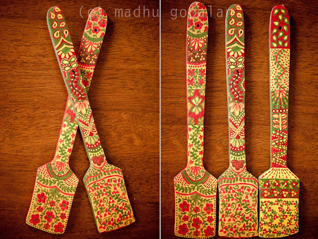 DIY Painted Wooden Spoons