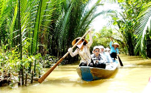 Tour tham quan sông nước miệt vườn trên cù lao An Bình