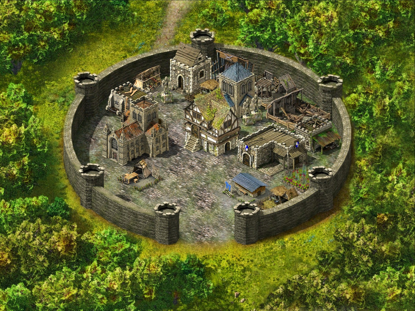Stronghold Deluxe Cheats