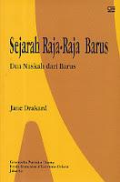 toko buku rahma: buku SEJARAH RAJA-RAJA BARUS (DUA NASKAH DARI BARUS), pengarang jane drakard, penerbit gramedia